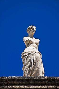 Statue of Aphrodite, Lindos, Rhodes, Greece, Europe