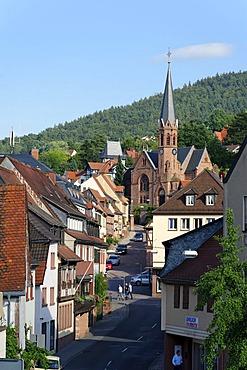 Johanneskirche, St John's church, Miltenberg, Mainfranken, Lower Franconia, Franconia, Bavaria, Germany, Europe