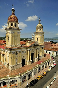 Cathedral Catedral Nuestra Senora de la Asuncion, Santiago de Cuba, Cuba, Caribbean