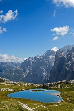 Mountain view near Rifugio Locatelli, Sepp Innerkofler, Alta Pusteria, Dolomites, South Tyrol, Italy, Europe