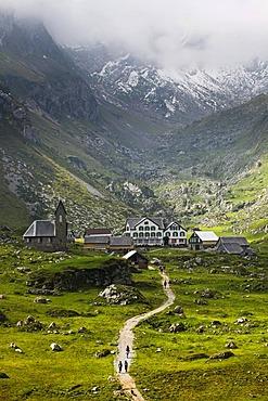 Megglisalp in summer in the Alpstein Mountains, Switzerland, Europe, PublicGround
