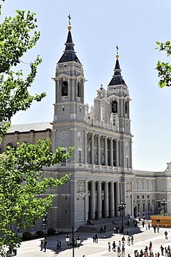 Santa Maria la Real de La Almudena or Almudena Cathedral, Madrid, Spain, Europe