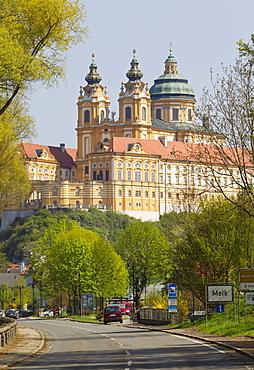 Stift Melk, Melk Abbey, Melk an der Donau, Wachau region, Lower Austria, Austria, Europe