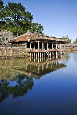 Teahouse, Emperor Lang Tu Duc Mausoleum, Hue, UNESCO World Heritage Site, North Vietnam, Vietnam, Southeast Asia, Asia