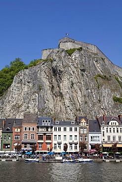 Citadel, Dinant on the Meuse, Namur, Wallonia, Belgium, Europe