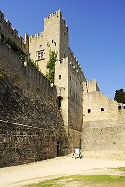 Palace of the Grand Master, Rhodes Town, Rhodes, Greece, Europe