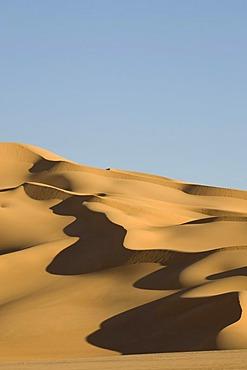 Sand dunes, Erg Awbari, Sahara desert, Fezzan, Libya, North Africa