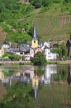 Alf, a municipality in the Landkreis Cochem-Zell district, Moselle Valley, Rhineland-Palatinate, Germany, Europe
