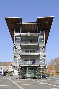 AOK Krankenkasse health insurance company, Gelsenkirchen, Ruhr area, North Rhine-Westphalia, Germany, Europe