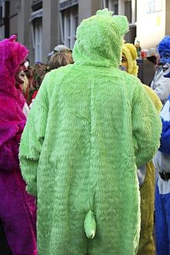 Carnival street parade, Cologne, North Rhine-Westphalia, Germany, Europe