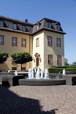 Schloss Hachenburg castle, Westerwald, Rhineland-Palatinate, Germany, Europe