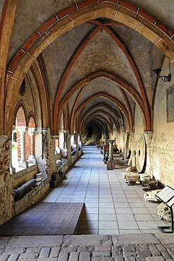 Cloister, Riga Cathedral, Cathedral Square, Riga, historic town centre, Latvia, Baltic States, Northern Europe