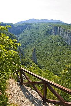 Ucka Canyon, Istria, Croatia, Europe