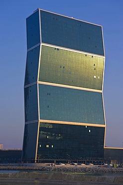 One of the Zig-Zag Towers, Doha, Qatar, Arabian Peninsula, Middle East