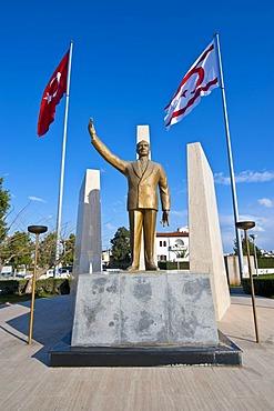 Monument for Mustafa Kemal Atatuerk, Turkish part of Cyprus
