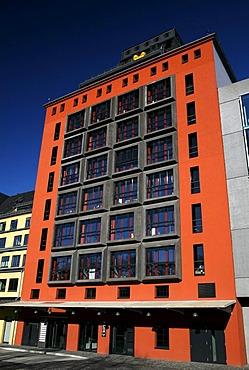 Building, Silo 25, Cologne, North Rhine-Westphalia, Germany, Europe