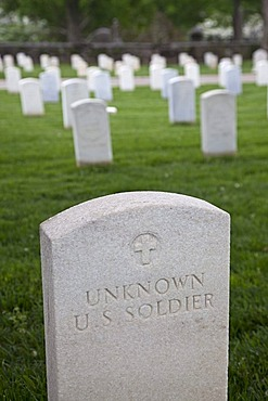 Knoxville National Cemetery, established during the Civil War, Knoxville, Tennessee, USA, America