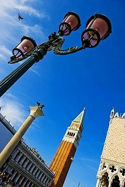 Piazza San Marco, St Mark's Square, Venice, Veneto, Italy, Europa