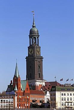 Church of St. Michaelis and Swedish Seamen's Church, Neustadt, Hamburg, Germany, Europe
