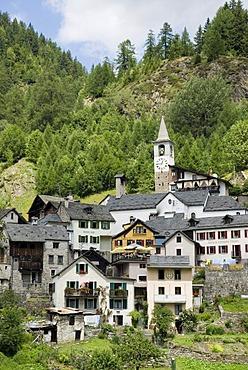 Fusio, Lavizzara, Ticino, Switzerland, Europe