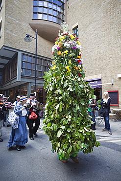 Jack-in-the-Green Parade, Southwark, London, England, United Kingdom, Europe