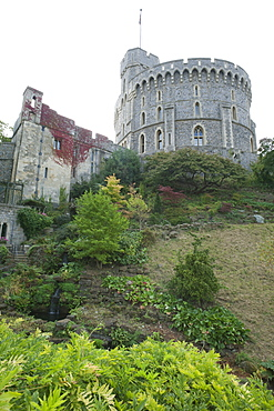 The Round Tower, Windsor Castle, Windsor, Berkshire, England, United Kingdom, Europe
