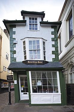 The Crooked House Tea Shop, Windsor, Berkshire, England, United Kingdom, Europe