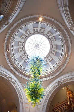 Roof dome of the Grand Entrance, Victoria and Albert Museum, London, England, United Kingdom, Europe