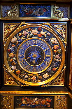 Clock Cabinet dating from 1824, Victoria and Albert Museum, London, England, United Kingdom, Europe