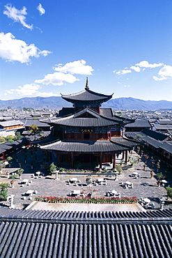 Mu Family Mansion, Ming Dynasty, Old Town, UNESCO World Heritage Site, Lijiang, Yunnan Province, China, Asia
