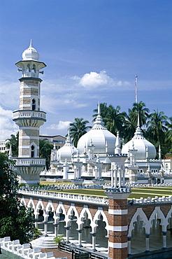 Masjid Jame Mosque, Kuala Lumpur, Malaysia, Southeast Asia, Asia