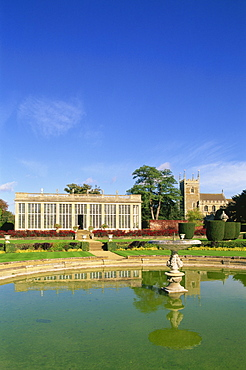 The Orangery, Belton House, Grantham, Lincolnshire, England, United Kingdom, Europe
