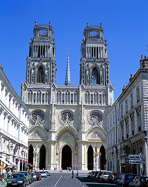 Sainte Croix Cathedral (Cathedrale Ste.-Croix), Orleans, Loire Valley, France, Europe