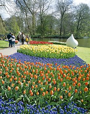 Tulips, Keukenhof Garden, Lisse, Holland (Netherlands), Europe