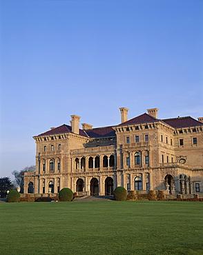 Breakers Mansion, owned by Cornelius Vanderbilt, Newport, Rhode Island, New England, United States of America, North America