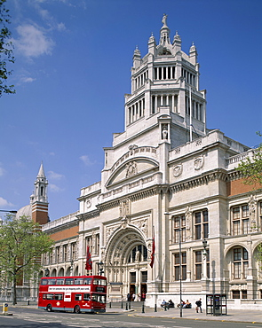 Victoria and Albert Museum, South Kensington, London, England, United Kingdom, Europe
