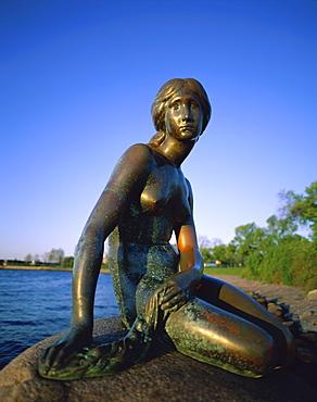 Little Mermaid statue, Copenhagen, Denmark, Scandinavia, Europe