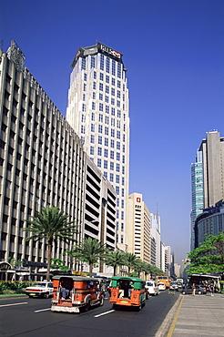 Makati Business District, Manila, Philippines, Southeast Asia, Asia