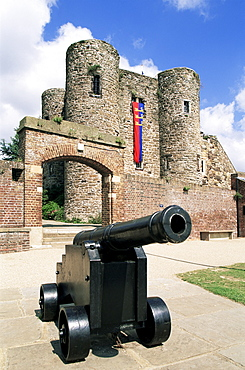 Ypres Tower, Rye Castle Museum, Rye, East Sussex, England, United Kingdom, Europe