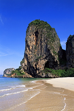 Phranang Cave Beach, Krabi, Phi Phi National Park, Thailand, Southeast Asia, Asia
