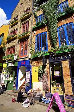Neals Yard, Covent Garden, London, England, United Kingdom, Europe