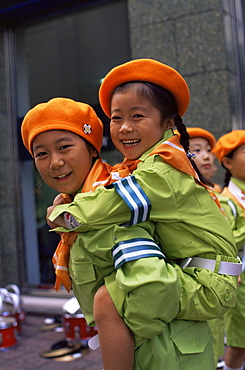 Girl Guides, Tokyo, Japan, Asia