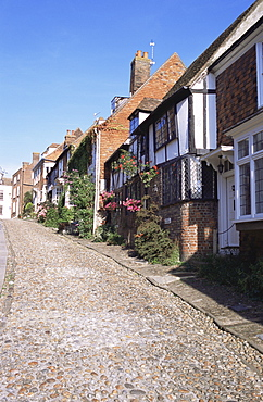Mermaid Street, Rye, Sussex, England, United Kingdom, Europe