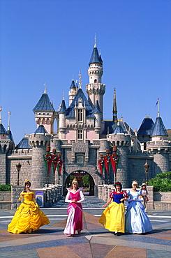 Disneyland, Lantau, Hong Kong, China, Asia