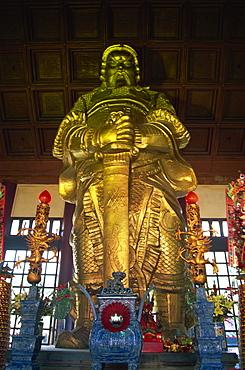 Statue of Che Kung, Che Kung Temple, Sha Tin, Kowloon, Hong Kong, China, Asia