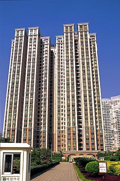 High rise apartments, Guangzhou, Guangdong Province, China, Asia