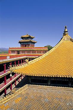 Temple of Potaraka Doctrine dating from 1771, UNESCO World Heritage Site, Chengde, Hebei Province, China, Asia