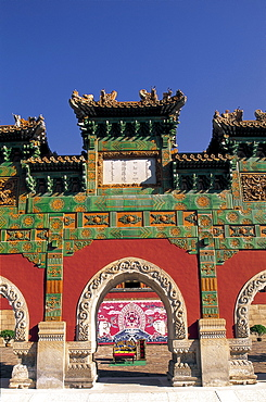 Temple of Happiness and Longevity dating from 1780, UNESCO World Heritage Site, Chengde, Hebei Province, China, Asia