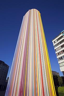 Le Moretti work by Raymond Moretti, La Defense, Paris, France, Europe