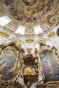 The Benedictine Abbey, Ettal, Romantic Road, Bavaria, Germany, Europe